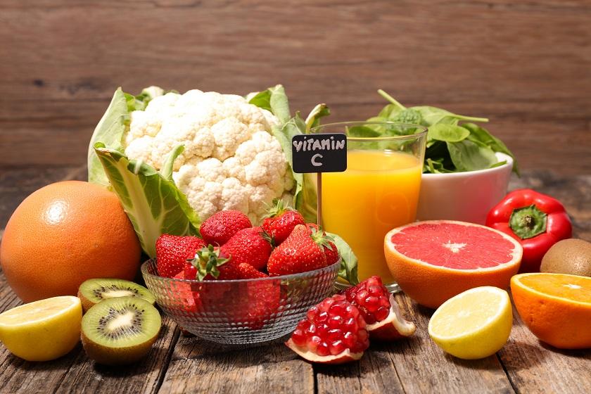 ovoce a zelenina s vitamínem C