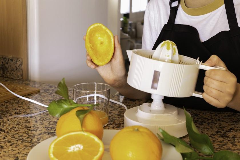 odšťavnění citrusů