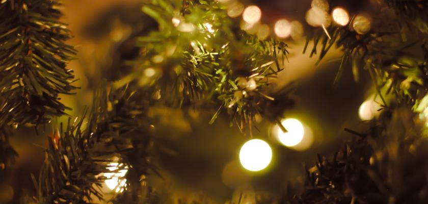 Vanoce - stromecek - svetylka