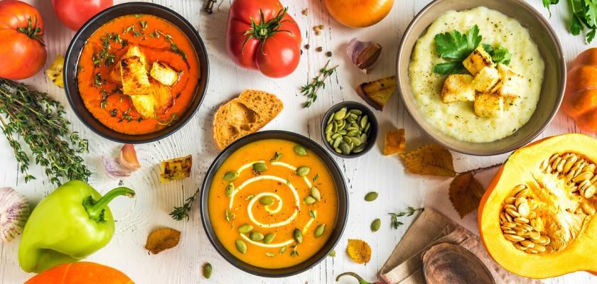 zeleninové polévky