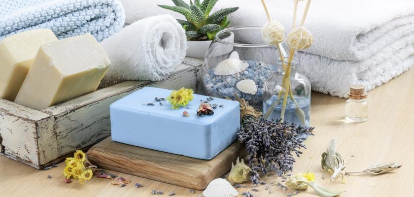 domácí bylinkové mýdlo