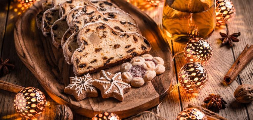 vánoční drážďanská štola
