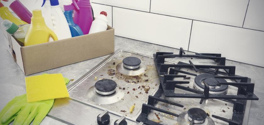 mastnota v kuchyni
