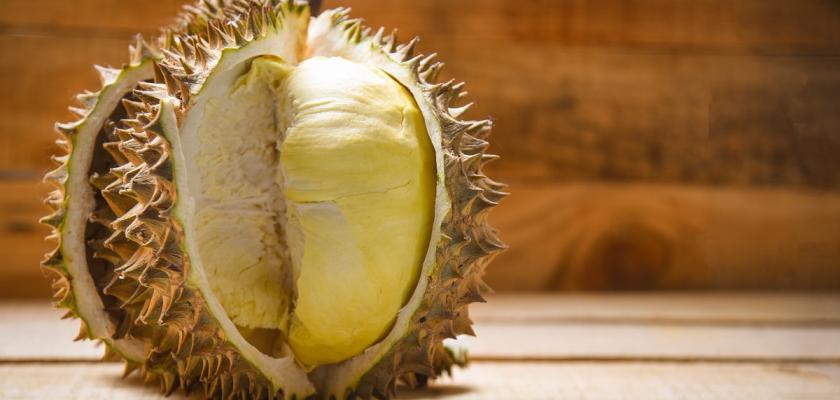 oloupaný durian