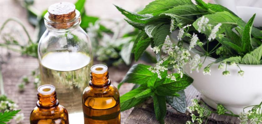 aroma oleje v lahvičkách