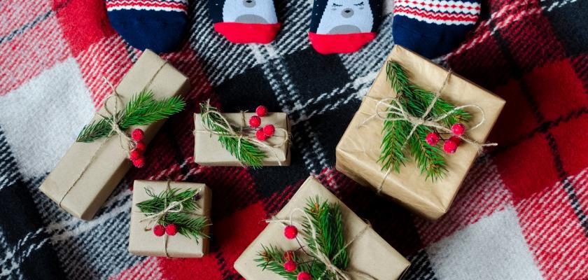 zabalené dárečky
