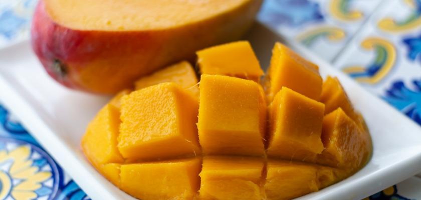nakrájené mango