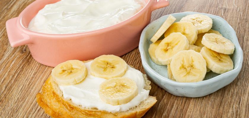 domácí termix s banánem