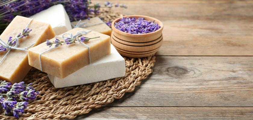 domácí levandulová kosmetika