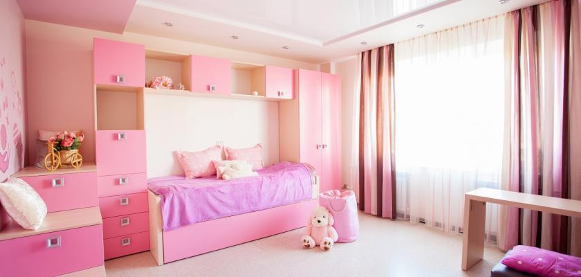 růžový pokoj pro princeznu