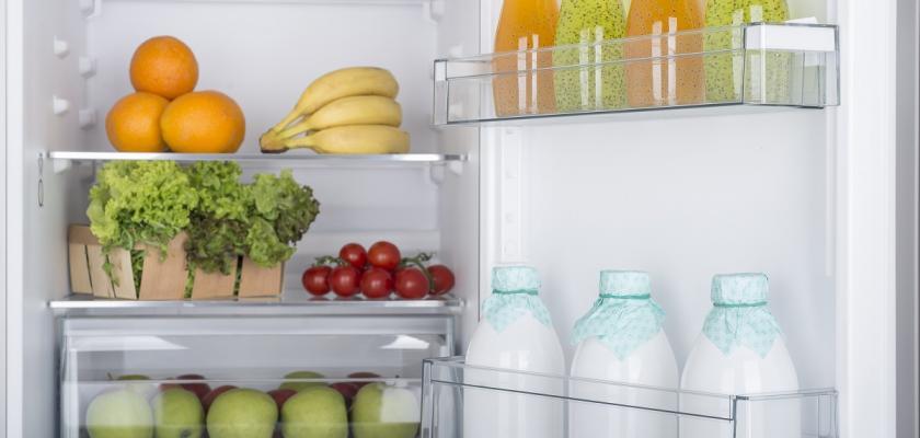 dveře lednice