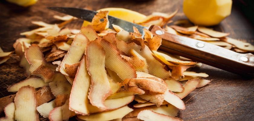 slupky od brambor