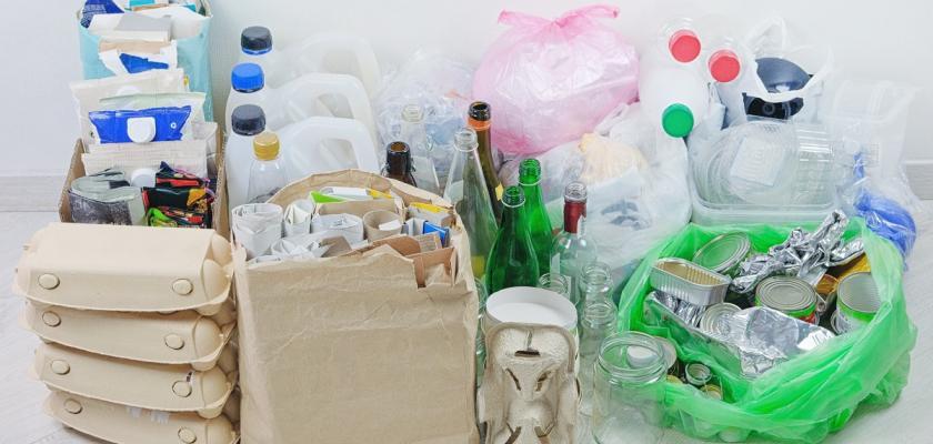 recyklovaný odpad