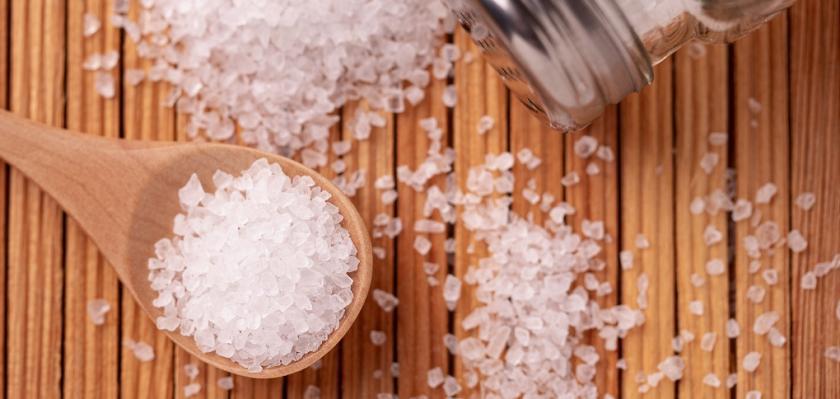 sůl na lžičce