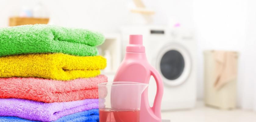 barevné ručníky a aviváž