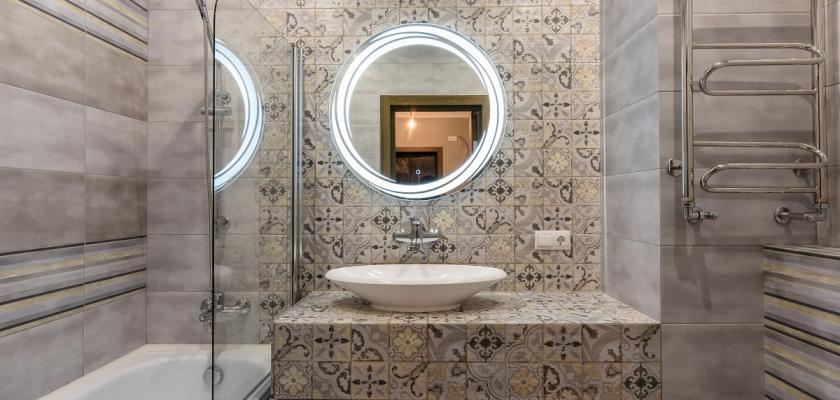 patchwork koupelna