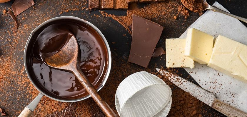 vaření s čokoládou