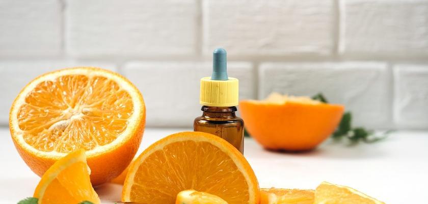 pomeranč a vitamín C