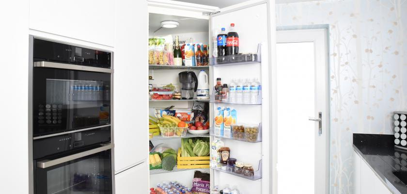 vestavěná lednice