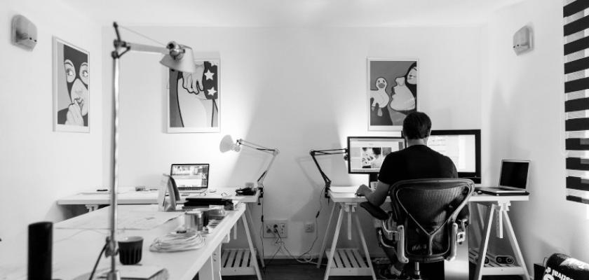 domácí kancelář 1