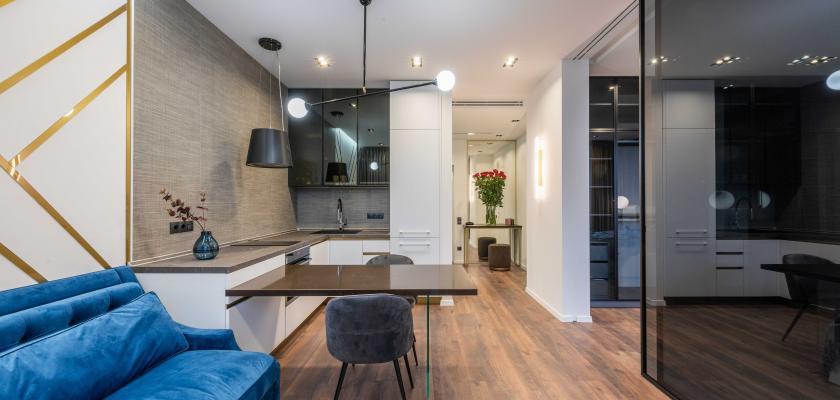 moderní minimalistický interiér