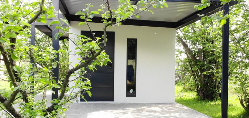 montovaný zahradní domek Stará Bělá