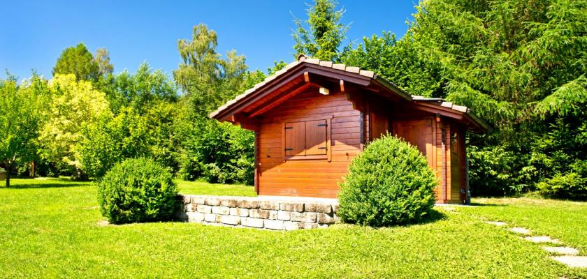 chatka na zahradu