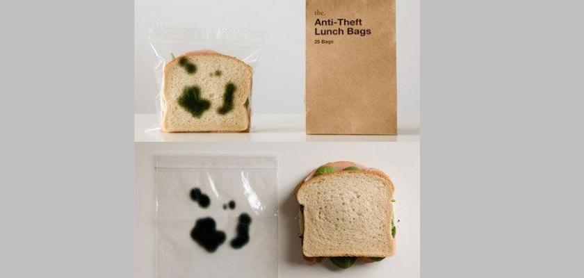 Z lednice se ztrácí jídlo? Obalte ho sáčkem s potiskem plísně! #Jídlo