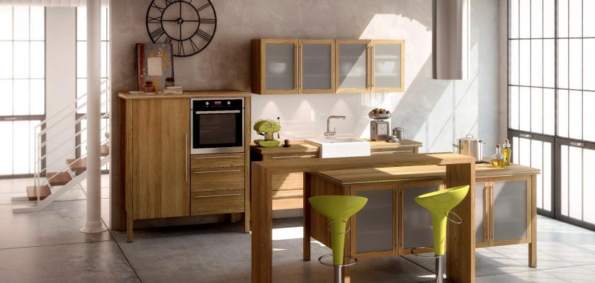 Od zakouřené kuchyně k moderní, od ledu k lednicím