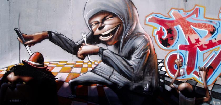 graffiti-kuchyne