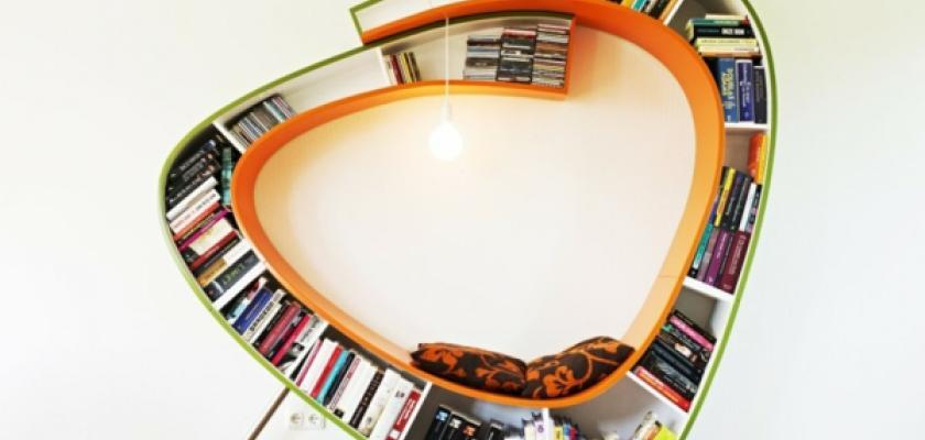 Origin ln knihovny d se do nich sednout a mohou b t i for Wohnideen minimalisti