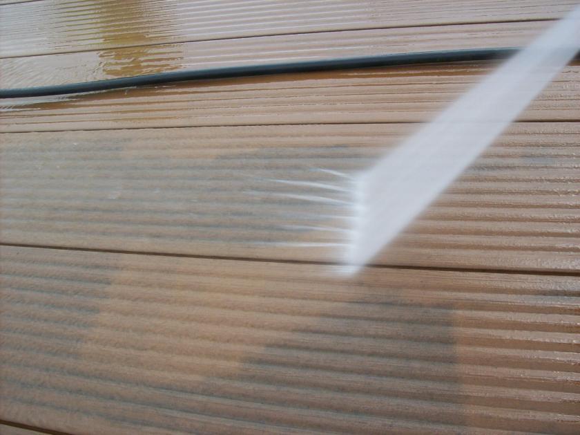 údržba dřevoplastových teras
