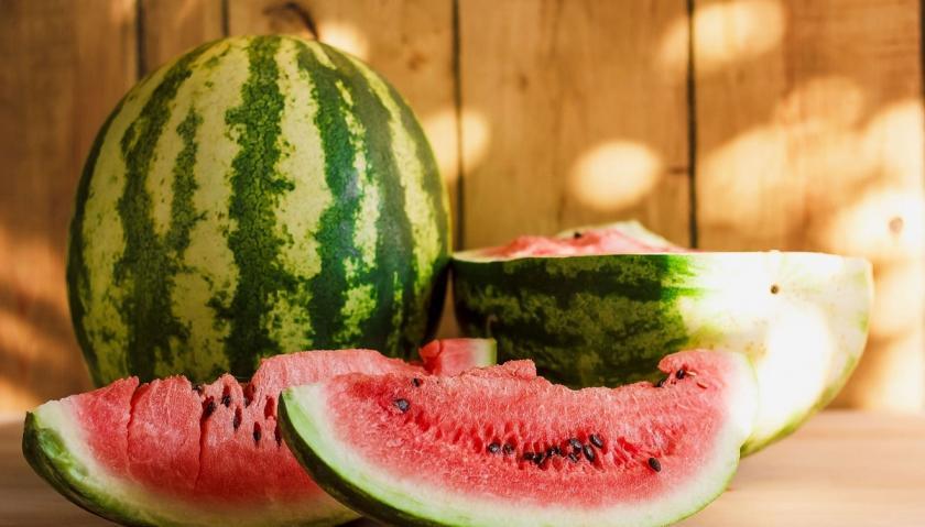 nakrájený meloun