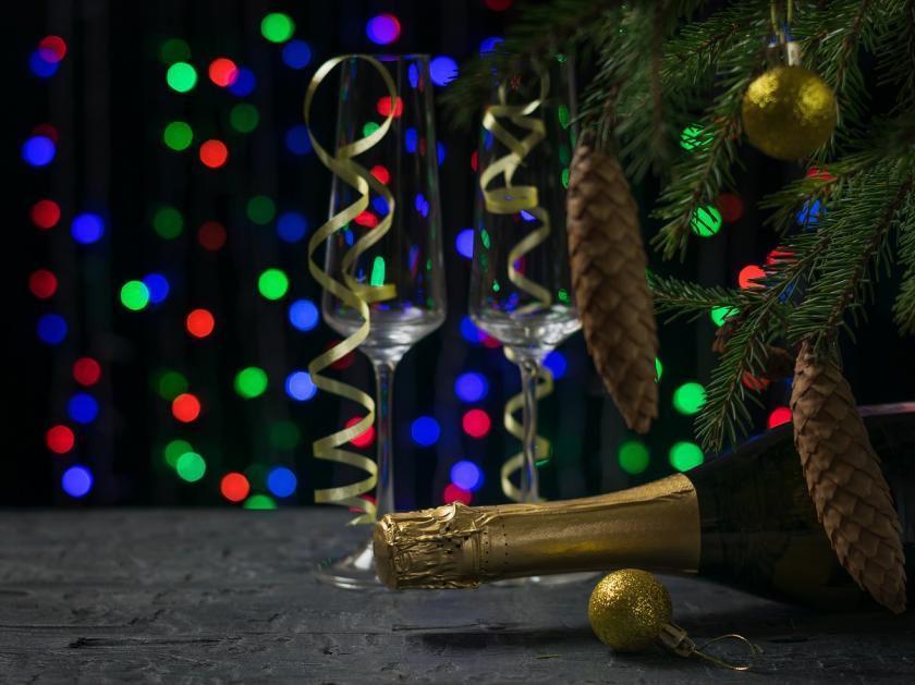 novoroční večer