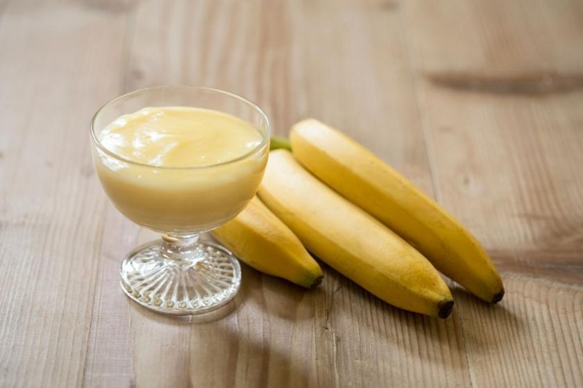 banánové pyré