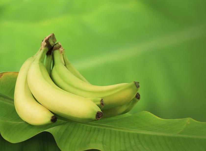 banány na listu