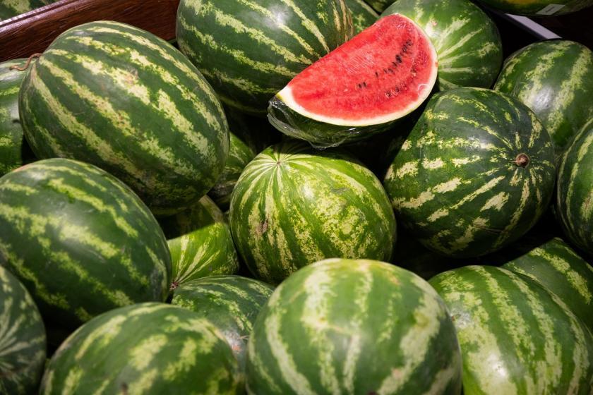 hromada melounů
