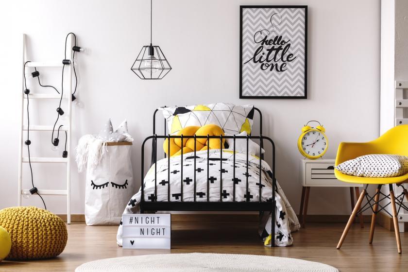 dětský žlutý pokoj