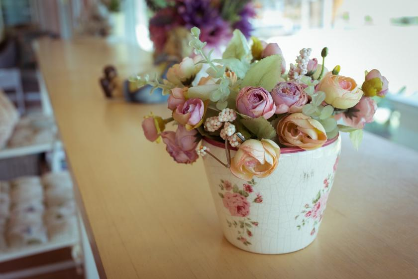 decoupage váza