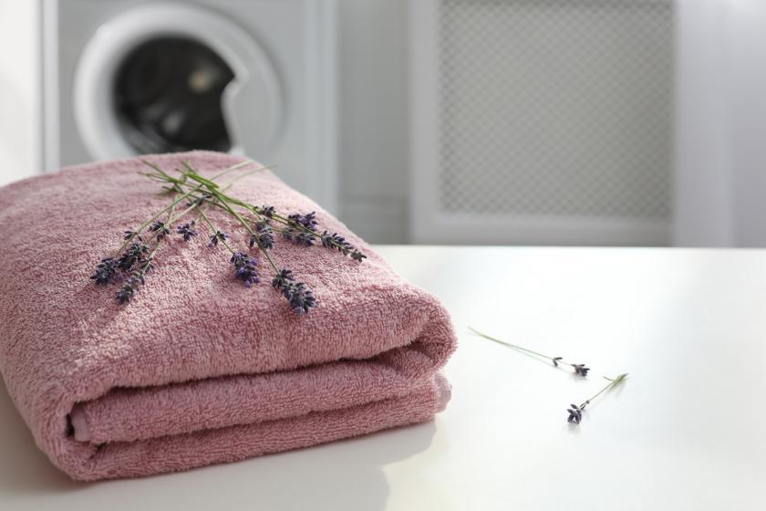 ručníky s levandulí