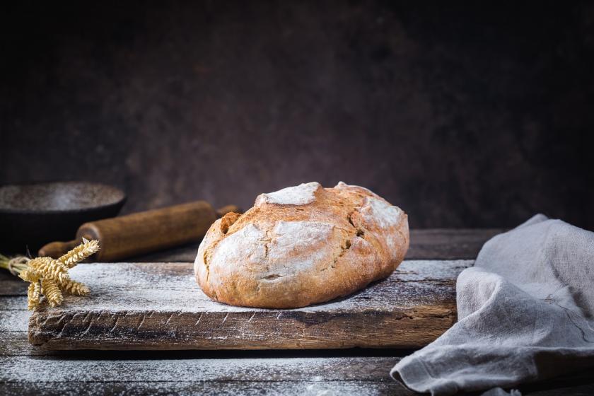 křupavý domácí chleba