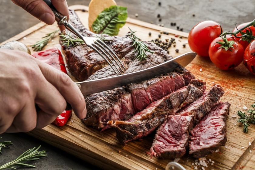 ugrilované maso