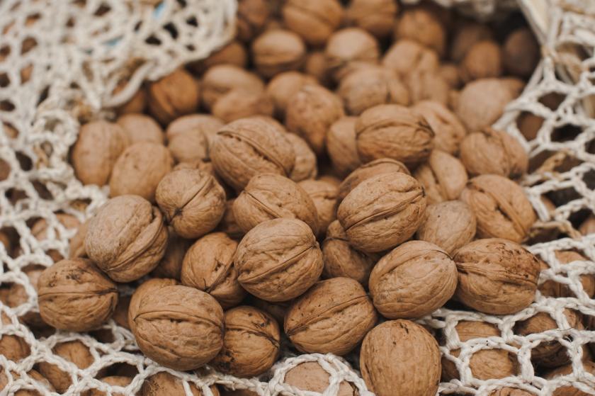 skořápky ořechů