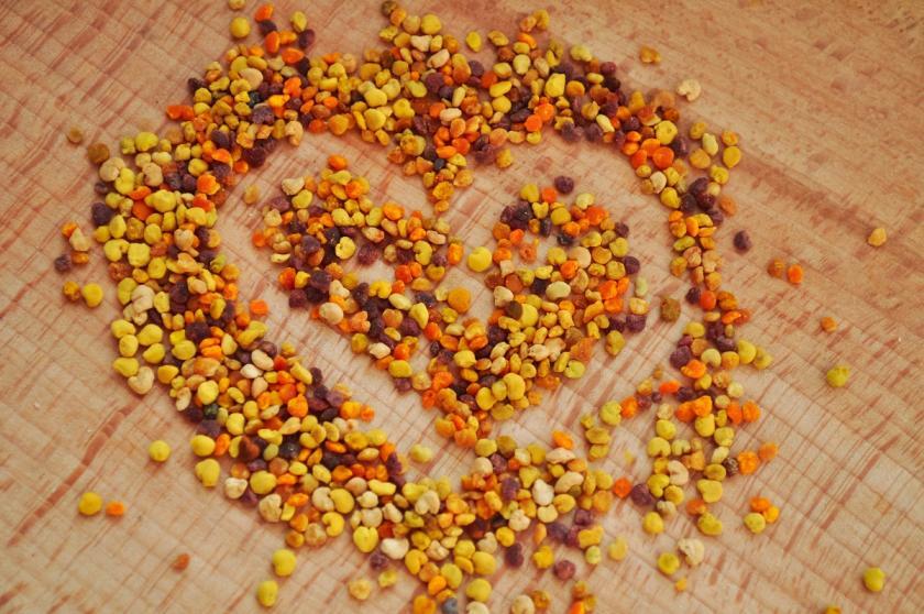 propolisové srdíčko