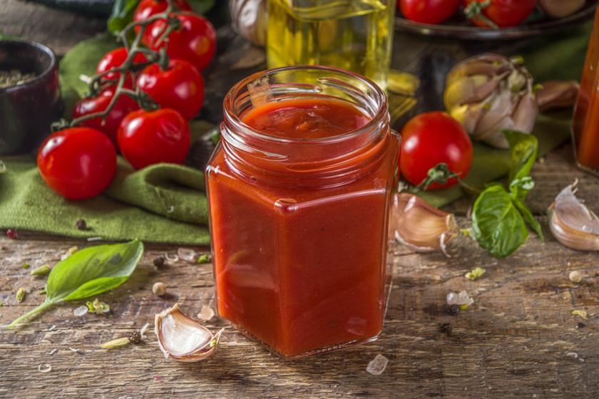 domácí rajčatový kečup