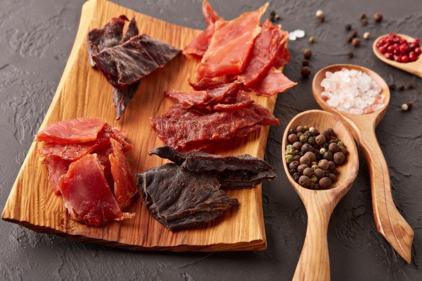 kořeněné sušené maso