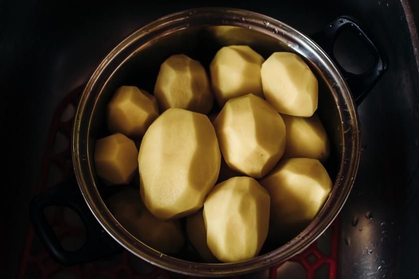 brambory ve vodě