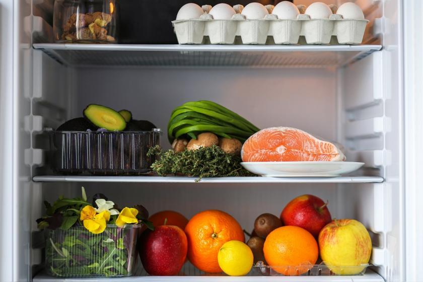 ryba v lednici
