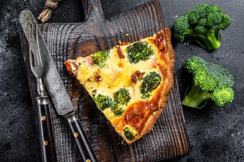 quiche s brokolicí