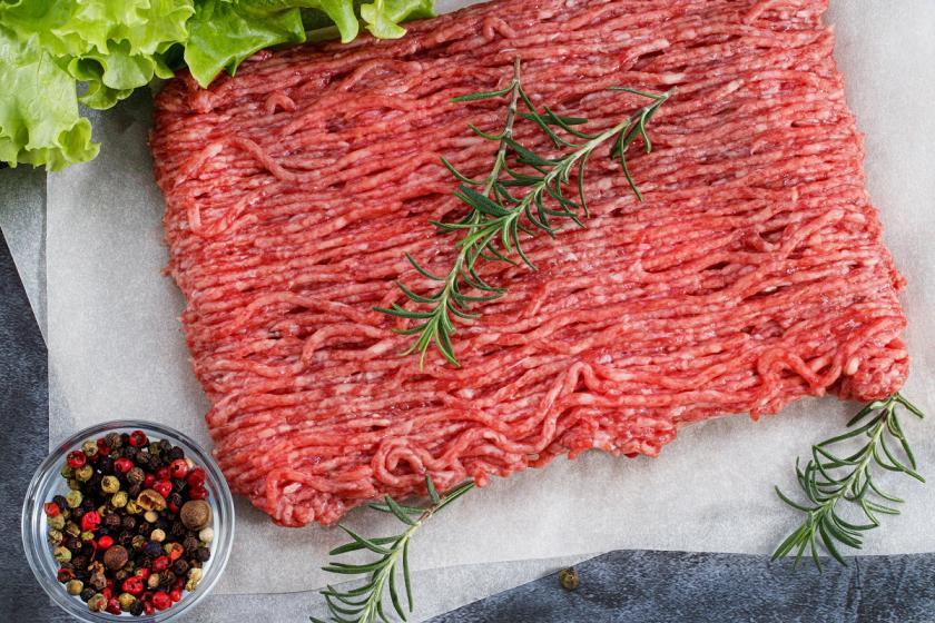 mleté maso s kořením